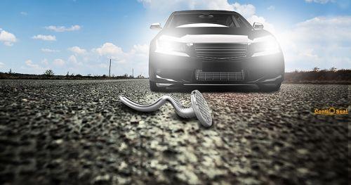 Как Continental борется с проколами шин