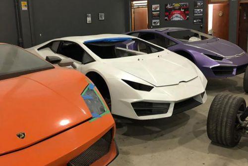 Как работала фабрика по производству поддельных Ferrari и Lamborghini