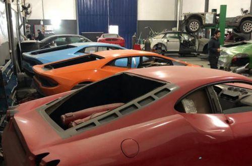 Как работала фабрика по производству поддельных Ferrari и Lamborghini - Ferrari