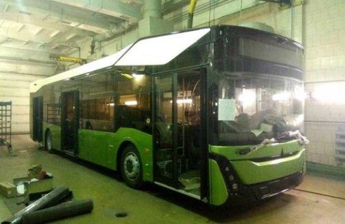 Каким будет новый автобус МАЗ 303