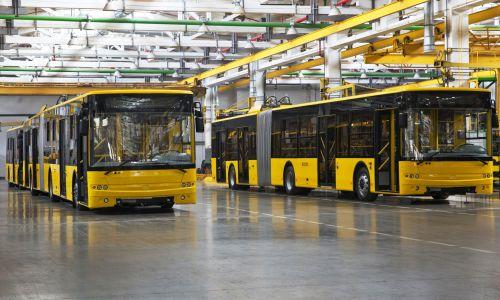 Киев получил 12 из 55 новых троллейбусов Богдан Т90117