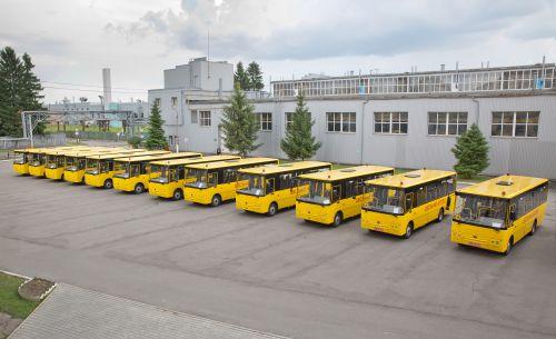 На Волыни купили еще один школьный автобус Богдан А22412