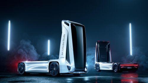 Каким будет грузовик будущего. Версия Студии Лебедева
