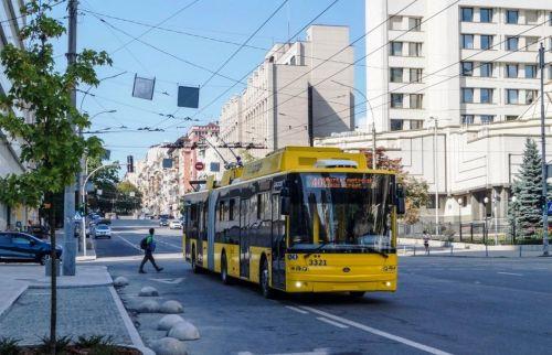 В Киев поставили очередной троллейбус Богдан Т90117