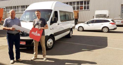 Микроавтобусы МАЗ находят своих покупателей в Украине