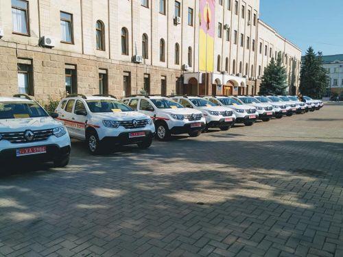Медикам продолжают передавать партии Renault