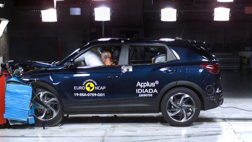SsangYong достиг высших показателей безопасности своих авто в краш-тестах