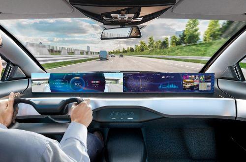 Какими будут интерьеры беспилотных авто