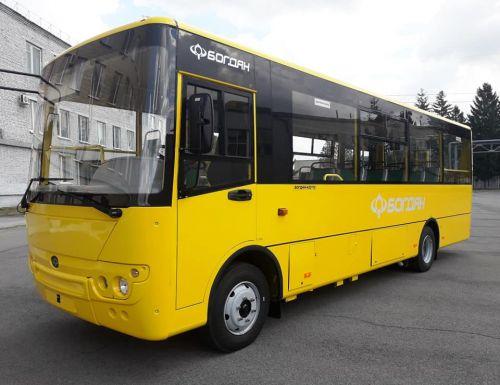 Богдан поставил 5 автобусов в Краматорск