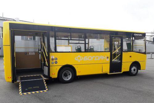 Богдан поставил 5 автобусов в Краматорск - Богдан
