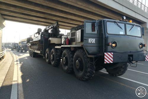Какая украинская военная техника засветилась на учениях в Косово