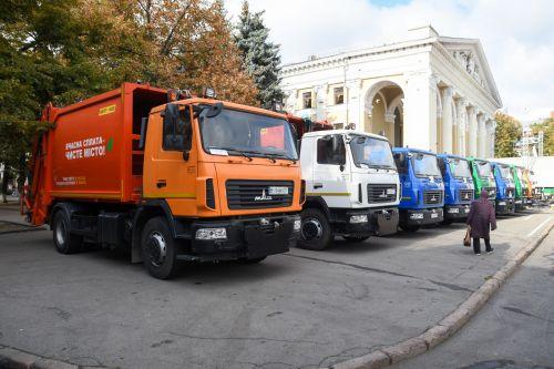 Коммунальные предприятия Полтавы почти полностью перешли на МАЗы