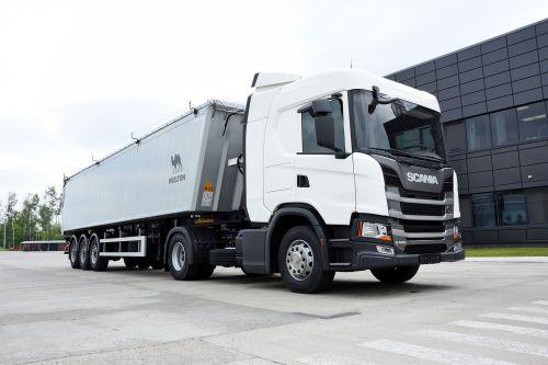 Scania представит в Кропивницком специальный аграрный зерновоз