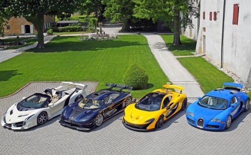 У африканского чиновника обнаружили коллекцию эксклюзивных суперкаров на $27 млн.
