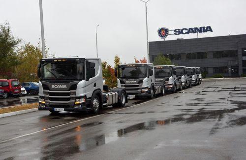 Крупный логистический оператор закупил партию тягачей Scania