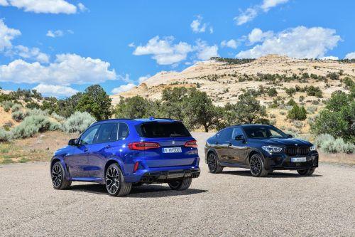 BMW представила «заряженные» кроссоверы X5 M и Х6 М третьего поколения