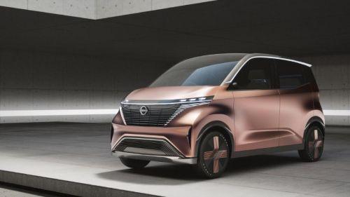 Nissan преставил концепт компактного городского электромобиля
