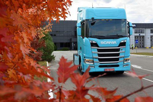 Scania поставила в Украину тягач, выполненный по программе индивидуализации