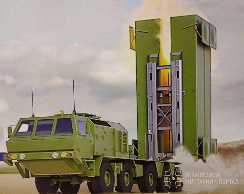 """КБ """"Южное"""" представило проект украинского зенитно-ракетного комплекса"""