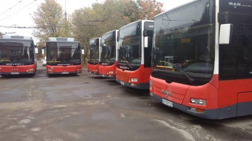 Тернополь закупил 20 низкопольных газовых автобусов MAN Lion`s City