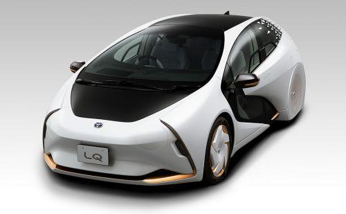 В Toyota LQ появится автопилот 4 уровня и проекционная система с дополненной реальностью