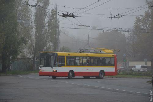 В Одессе из троллейбуса сделали электробус
