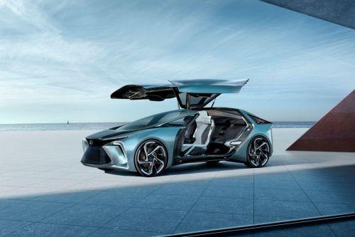 Lexus показал беспилотный электрокар будущего
