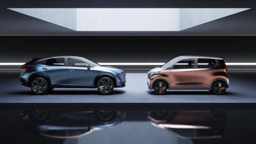 Каким будет дизайн автомобилей Nissan в будущем. Концепты автосалона в Токио