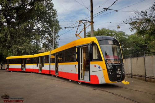 Одесса инвестирует в собственное производство трамваев