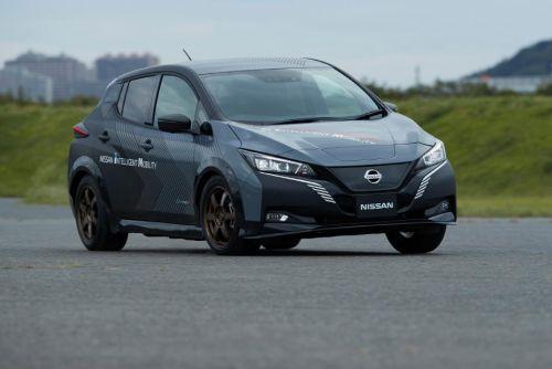Nissan создал тестовый полноприводный электромобиль