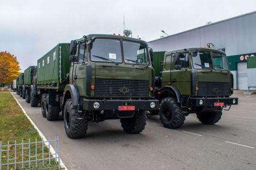 В ВСУ досрочно отправлена крупная партия армейских Богдан-63172