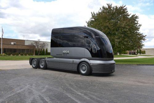 Hyundai представил водородный грузовик будущего
