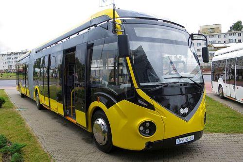 Мариуполь закупил 15 троллейбусов с автономным ходом