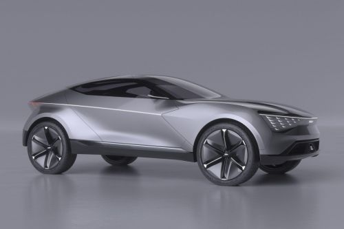 Kia представит концепт нового беспилотного купе-кроссовера