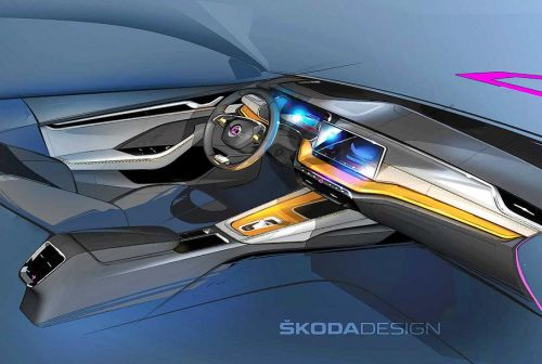 Каким будет салон новой Skoda Octavia