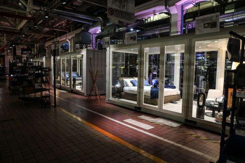 Maserati креативно придумала спальни для клиентов прямо на сборочной линии завода