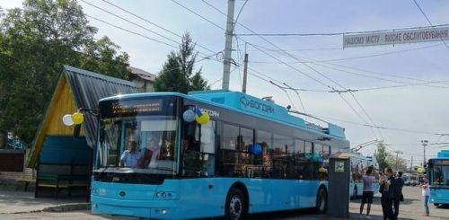 В Хмельницкий отправлена вся партия из 10 троллейбусов Богдан Т70117 - Богдан