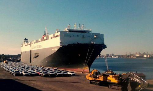 В Черноморске с терминала исчезло 7 автомобилей