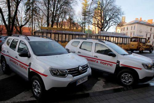 Для амбулаторий Львовской области передали партию внедорожников
