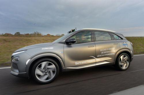 Водородный Hyundai установил рекорд пробега на одной заправке