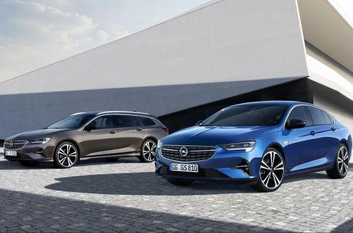 Обновленная Opel Insignia получит новые двигатели и адаптивные матричные фары