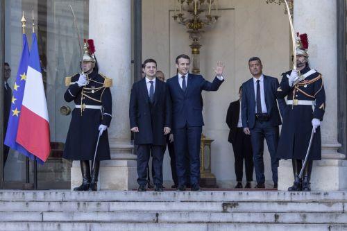 На каких авто прибыли президенты на Нормандский саммит
