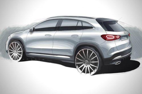 Каким будет новый Mercedes-Benz GLA