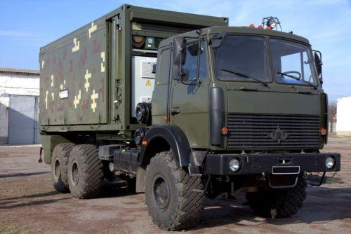 На базе Богдан-63172 создан новый передвижной пункт управления для ВСУ