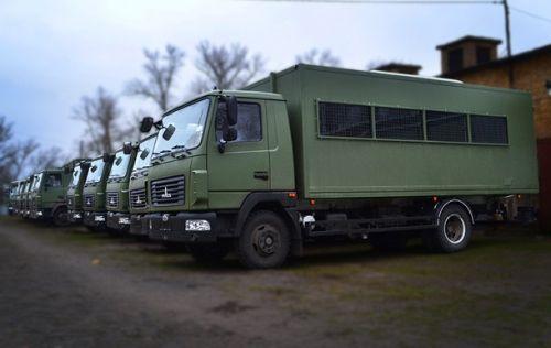 В Украине выпустили спецавтобус для силовых структур