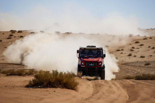 Экипаж МАЗа продолжает лидировать на Дакаре после 3 этапа