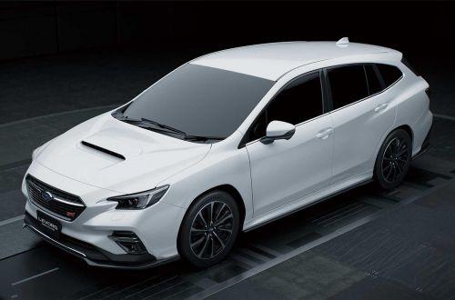 Subaru показала универсал с адаптивной подвеской - Subaru