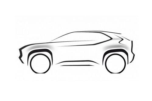 Toyota готовит кроссовер на базе Yaris, который будет доступнее C-HR