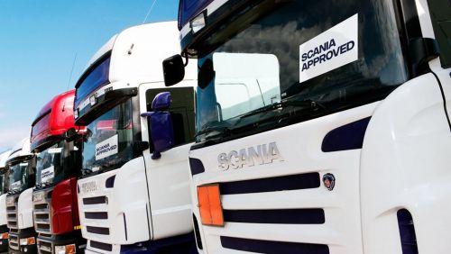 У Scania в Украине начал работать сайт по б-у технике