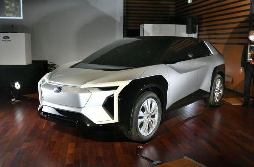 Subaru взяла курс на полный переход на электротягу